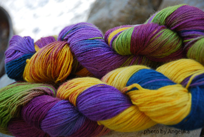 Angelika's yarns