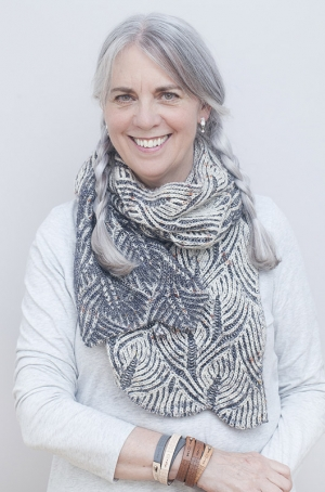 An interview with queen of brioche stitch Nancy Marchant